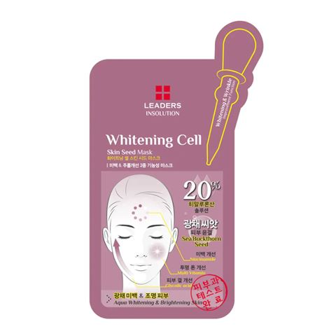 Insolution Whitening Cell Skin Seed Mask